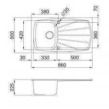 Elleci Easy  Granite Kitchen Sink Titanium Easy Tt Organize - Kitchen sink titanium