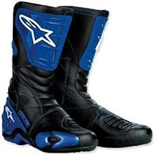 s boots amazon uk alpinestars s mx 4 motorcycle boots blue black 42 uk 8