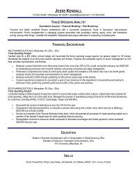 Examples Of Chef Resumes by Equity Trader Cv Sample Cv Sample Equity Trader Sample Resume