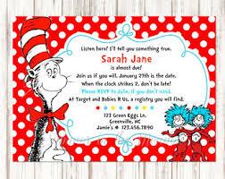 dr seuss baby shower invitations dr seuss baby shower invitation etsy