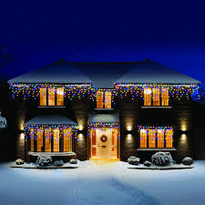 snowing icicle outdoor lights snowing icicle outdoor lights home design ideas