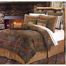 Cowboy Bed Sets Western Cowboy Bedding Ranch Barbwire Chocolate Western Bedding
