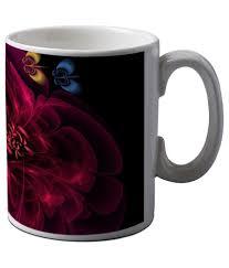Artistic Coffee Artifa Flowers Artistic Coffee Mug Buy Online At Best Price In