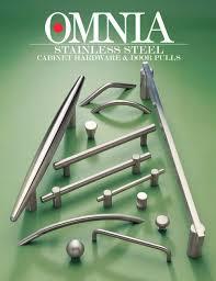 Kitchen Cabinet Knobs Stainless Steel Stainless Steel Cabinet Hardware U0026 Door Pulls Omnia Industries