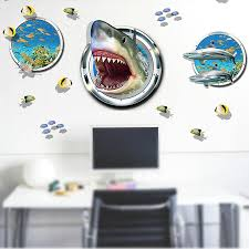 aliexpress com buy new 3d diy sticker name cartoon animal shark