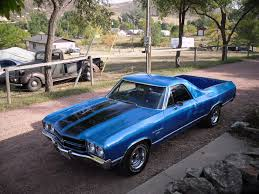 el camino lifted 1970 el camino ss 454 if i could get it brought to you by