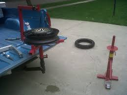 Tire Changer Hitch Mount By Lee 2002 Homemade Motorcycle Tire