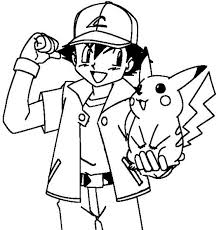 pokemon ash coloring pages phone coloring pokemon ash coloring