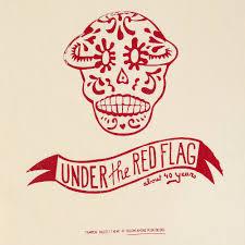Red Flags Jutebeutel Bedruckt Bam Motiv