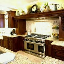 kitchen ideas decor best above cabinet decor ideas on kitchen what to put top