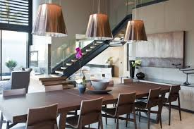 Modern Dining Room Design Simple Modern Contemporary Dining Room Design With Nice Long Table