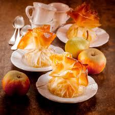 recette cuisine automne aumônières de fruits d automne compotés plats de l automne pour