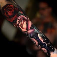 tatto ideas 2017 floral sleeve by nikko hurtado 50