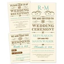 wedding invatations separate and send wedding invitations s bridal bargains