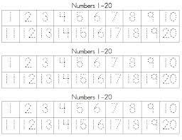 trace number worksheets free kiddo shelter