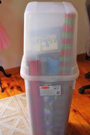 vertical wrapping paper storage bins storage bins