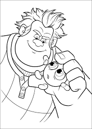 wreck ralph coloring pages download print free