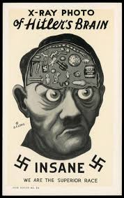 vintage infodesign 65 brain history and ww2 posters