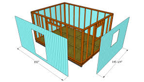Shed With Porch Plans How To Build A 12x16 Shed Howtospecialist How To Build Step
