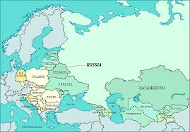 russia map quiz political map of iron curtain and ex u s s r former soviet union countries