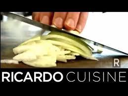 terme cuisine que signifie le terme émincer ricardo cuisine