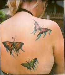 butterfly ink tattoos designs of