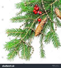 christmas decorations border beads berry con stock photo 118600774