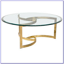 brass coffee table with glass top coffee table home furniture