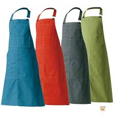 tablier de serveur ou de sommelier ou de cuisinier couleur uni