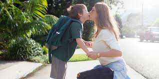 girls kissing in bed it is fine to kiss your kids on the lips obviously huffpost