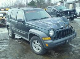 2006 green jeep liberty 1j4gl48k16w184383 2006 green jeep liberty sp on sale in me lyman