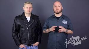 cheap motorcycle jackets for men mj402 classic leather motorcycle jacket review at jafrum com youtube