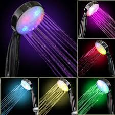 Bathroom Shower Head Ideas Colors Led Light Shower Heax Beatriz Fierro Can We Please Get This