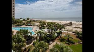 2 Bedroom Condos In Gulf Shores Beach Club Bristol 402 Gulf Front 2 Bedroom Condo 375 Beach