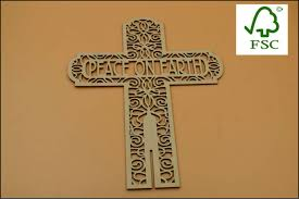 wooden craft crosses customized laser cutting wooden craft crosses buy laser cut