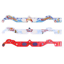 shop holiday living assorted 3d christmas paper glasses at lowes com