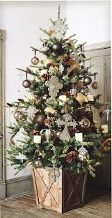 interior minimalist decorating ideas using christmas trees in