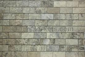 travertine subway tile silver 2x4 tilemarkets