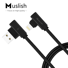 Muslish 2016 New Arrival L Shape Usb Data Charging Sync Charger