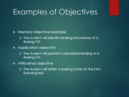 objectives writing worthwhile objectives for your class ppt