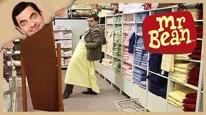 mr bean shopping for kitchen goods