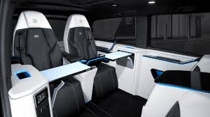 mercedes business class brabus business lounge based on mercedes v class motor1 com