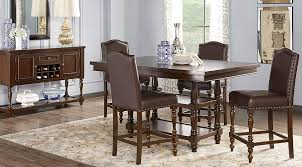 cherry wood dining room table dark wood dining room sets cherry espresso mahogany brown etc