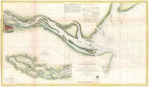 Map Of Savannah Ga File 1855 U S Coast Survey Chart Or Map Of The Savanna River
