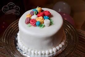 fondant ribbon rose birthday cake dream a lil dream