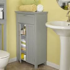 Grey Bathroom Cabinets Storage Cabinet Bathroom Furniture For Less Overstock