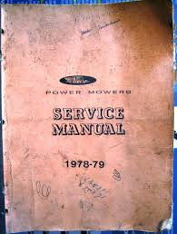shop manuals lawn mower grave yard equipment used tractor