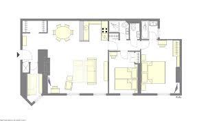 book 3 bedroom paris apartment rental paris perfect rully paris apartment floorplan