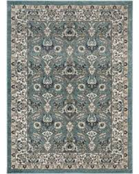Aqua Runner Rug Bargains 29 Aaron Traditional Aqua Runner Rug 2 7