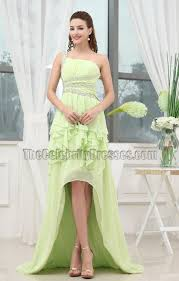 backless high low prom dress evening formal gown